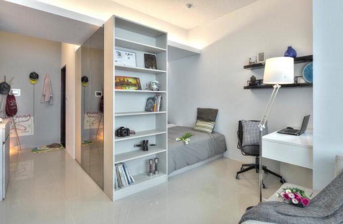 e8fda7d78fa Väike korteri sisemuse minimalism on stiilne lahendus, disainimeetodite  abil kasutatakse targalt iga sentimeetrit ruumi, ruum on täis valgust, ...